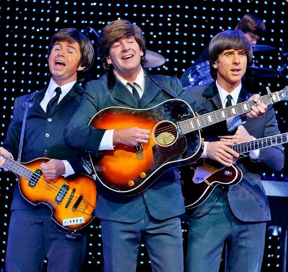 Cast of BeatleShow!