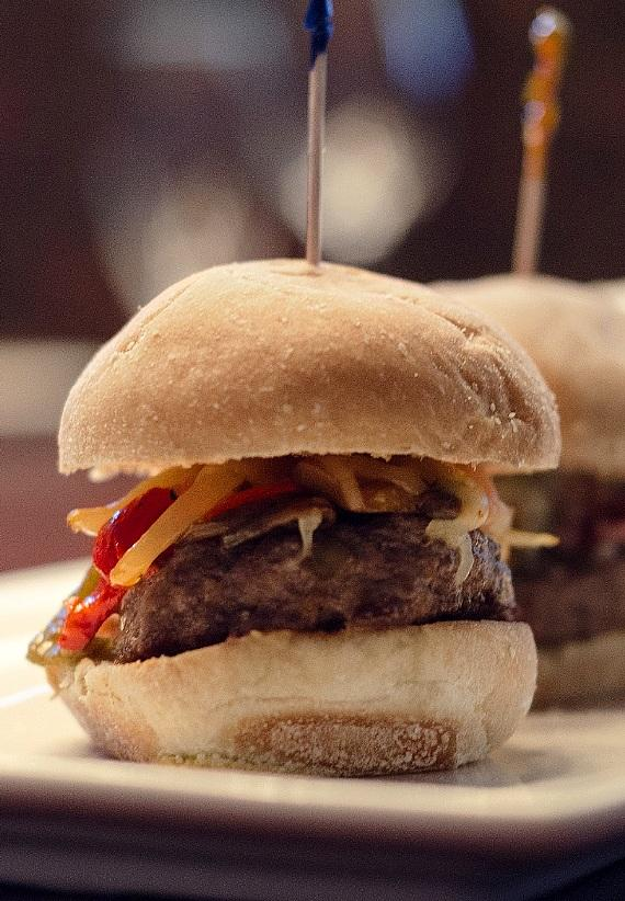 Beefy Angus Sliders