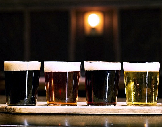 Beer Flight from Public House