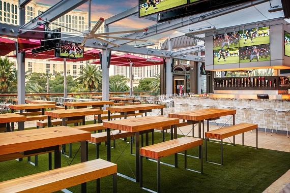 Beer Park Bar and Seating