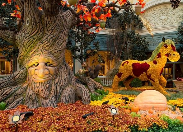 Harvest Display Brings Crisp, Autumn Air to Bellagio's Conservatory & Botanical Gardens