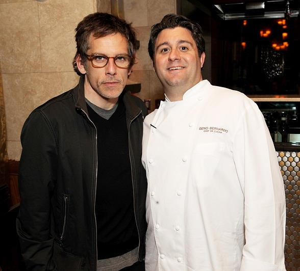 Ben Stiller, Geno Bernardo at Nove Italiano