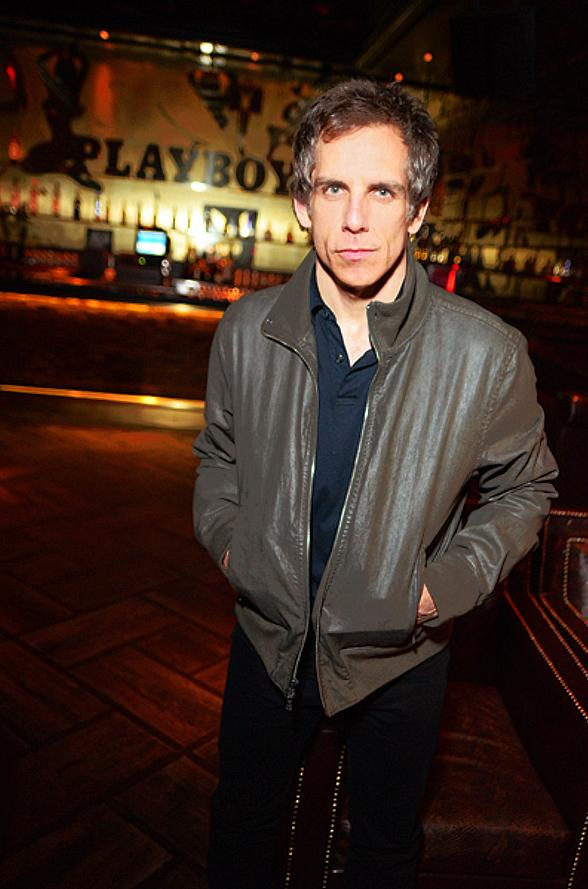 Ben Stiller at Nove Italiano and Playboy Club in Palms Casino Resort