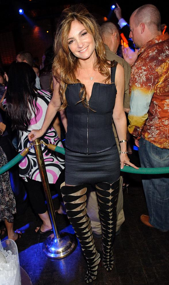 Beth Shak Dines at LAVO