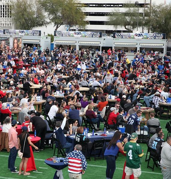 Big Game Free Tailgate Party at DLVEC Las Vegas