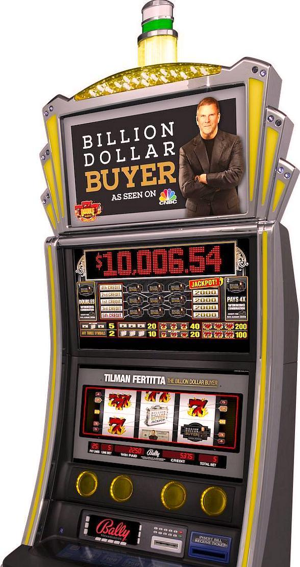 "Golden Nugget Las Vegas Unveils New, Exclusive ""Billion Dollar Buyer"" Slot Machine"