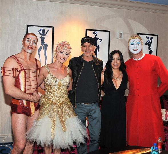 "Billy Bob Thornton at Cirque du Soleil ""O"""