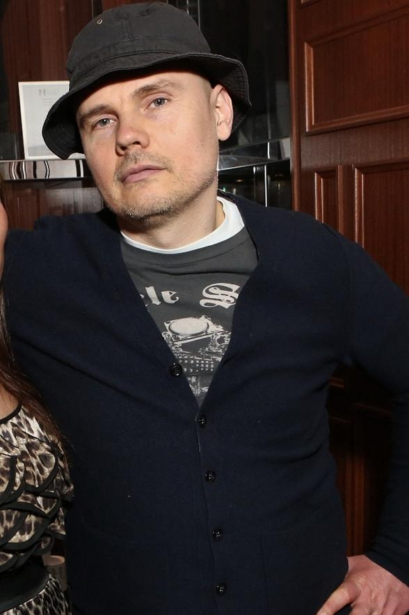 Billy Corgan Parties at Hyde Bellagio in Las Vegas