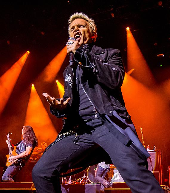Billy Idol performs at The Chelsea inside The Cosmopolitan of Las Vegas