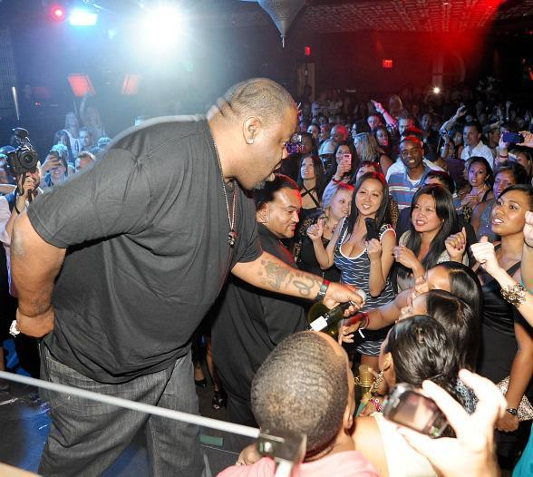 Biz Markie hosts Old School Wednesday at LAVO