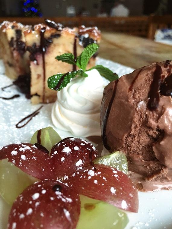 Black Forest Bread Pudding