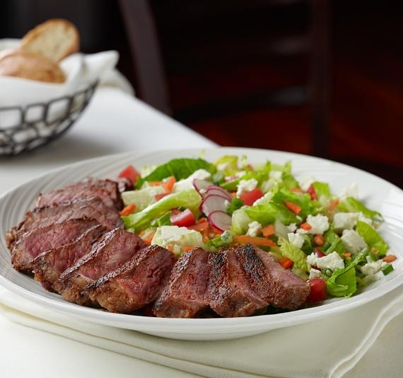 Blackened Prime New York Steak Chop Chop Salad