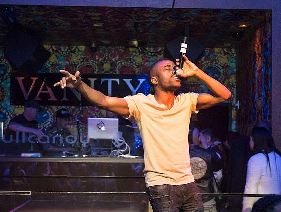 Blaqstarr performs at Vanity