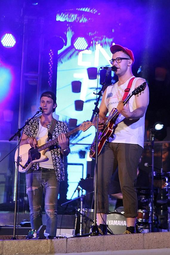 "Bleachers performs at Boulevard Pool as Part of ""Set Your Life to Music"" Series at The Cosmopolitan of Las Vegas"