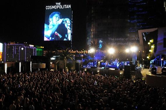 Bloc Party performs at Boulevard Pool at The Cosmopolitan of Las Vegas