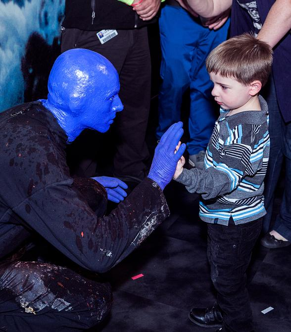 Blue Man Group Celebrates Return to Luxor Hotel and Casino