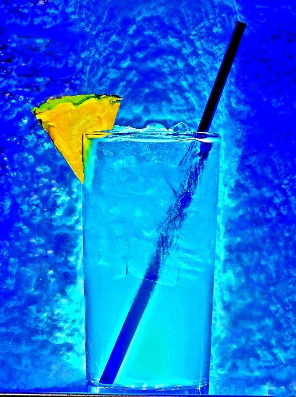 Blue Sparkler at Tabu in MGM Grand Hotel & Casino