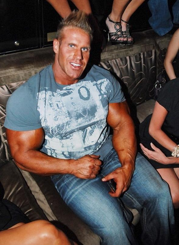 Mr. Olympia Jay Cutler celebrates victory at Blush Boutique Nightclub