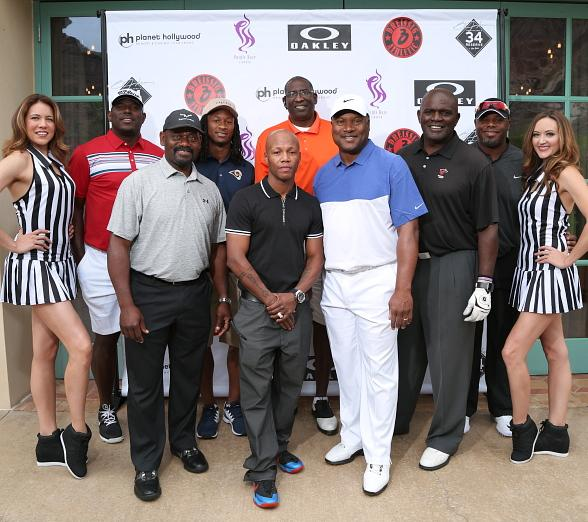 Bo Jackson and Friends Enjoy a Golf Tournament at Cascata Golf Course
