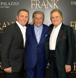"Tony Bennett at ""FRANK - The Man. The Music."" at The Palazzo Las Vegas"