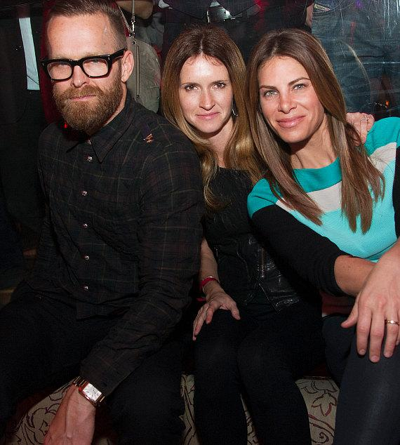 Bob Harper, Heidi Rhodes and Jillian Michaels at TAO
