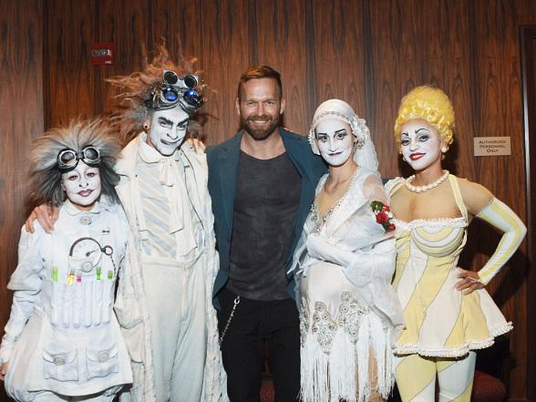 Personal Trainer from TV's The Biggest Loser, Bob Harper, Attends Zarkana by Cirque du Soleil