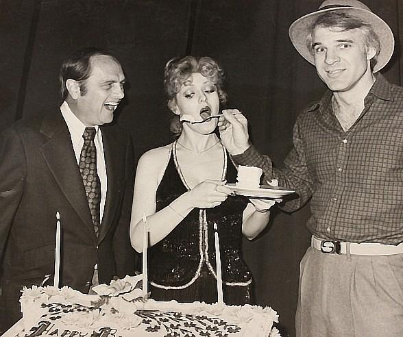 Celebrate 60 outstanding years of the Riviera Hotel & Casino:  Bob Newhart, Bernadette Peters and Steve Martin