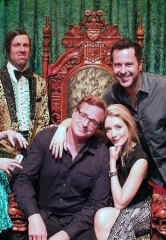 Actors Bob Saget, Jennifer Finnigan and Jonathan Silverman Attend ABSINTHE at Caesars Palace