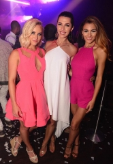 Miss USA Contestants spotted at Hakkasan Las Vegas Nightclub