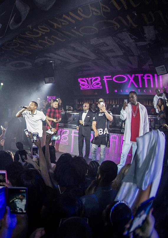 Bow Wow with Jermaine Dupri at Foxtail