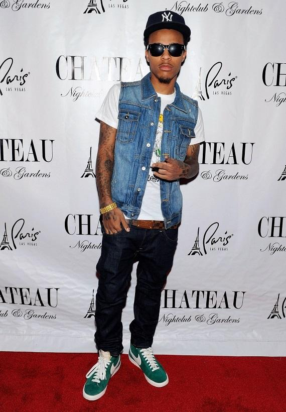 Bow Wow on the red carpet of Chateau Nightclub & Gardens