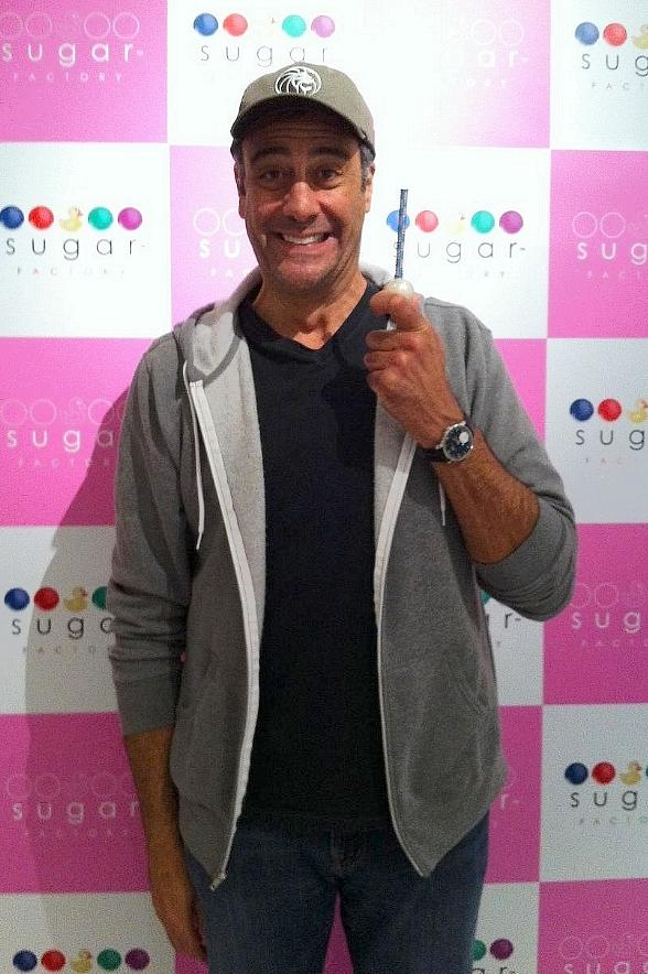 Brad Garrett Gets Sweetened Up at New Sugar Factory inside MGM Grand Hotel & Casino