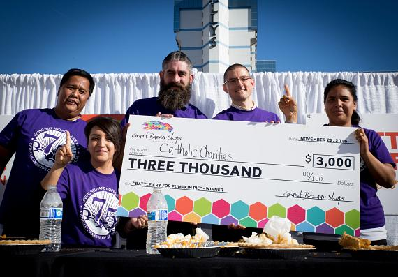 Catholic Charities of Southerrn Nevada takes home grand prize of $3000