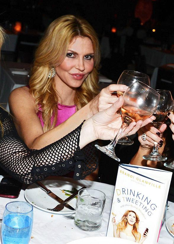 Brandi Glanville Celebrates Release of New Book at LAVO in Las Vegas