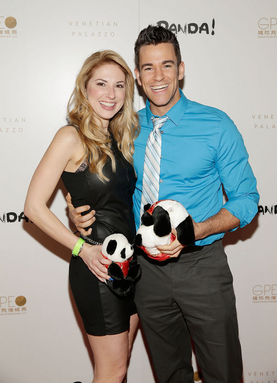 Breeana Diollo and Jeff Civillico at world premiere of PANDA!