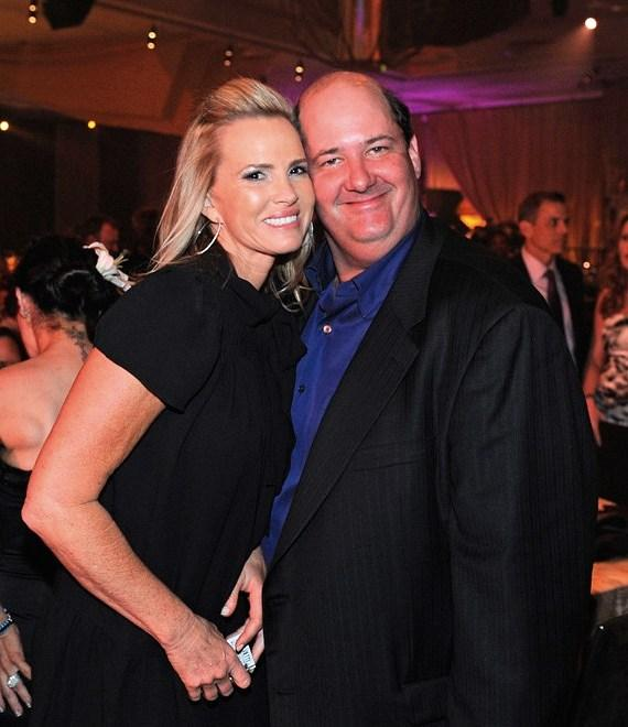 Brian Baumgartner and Janet (at last year's MJCI celebration)