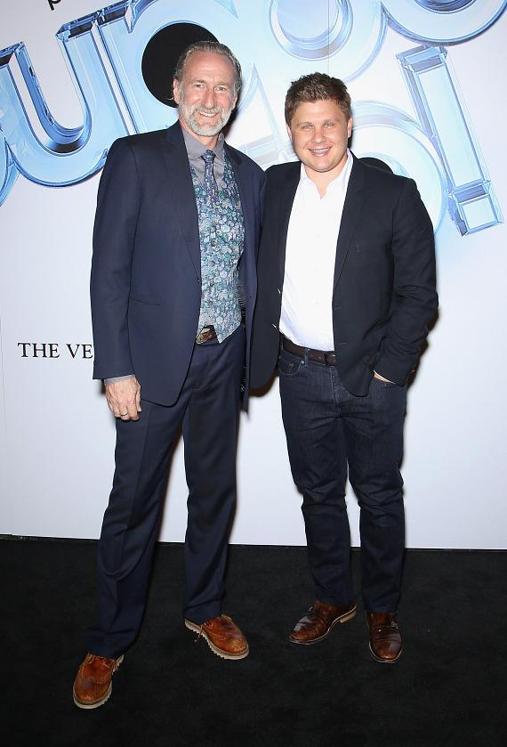 Brian Henson and Vincent Marini at Puppet Up! - Uncensored at The Venetian Las Vegas