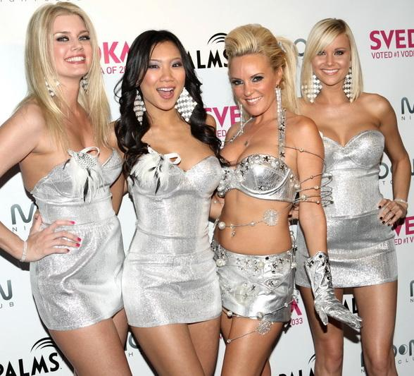 Bridget Marquardt (second from right) and friends