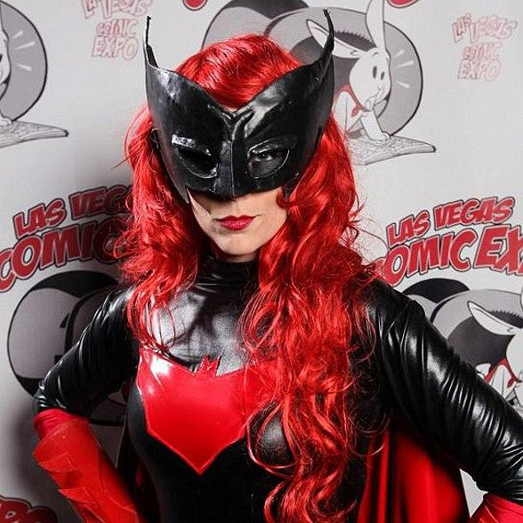 Brienna Brock at last year's Las Vegas Comic Expo