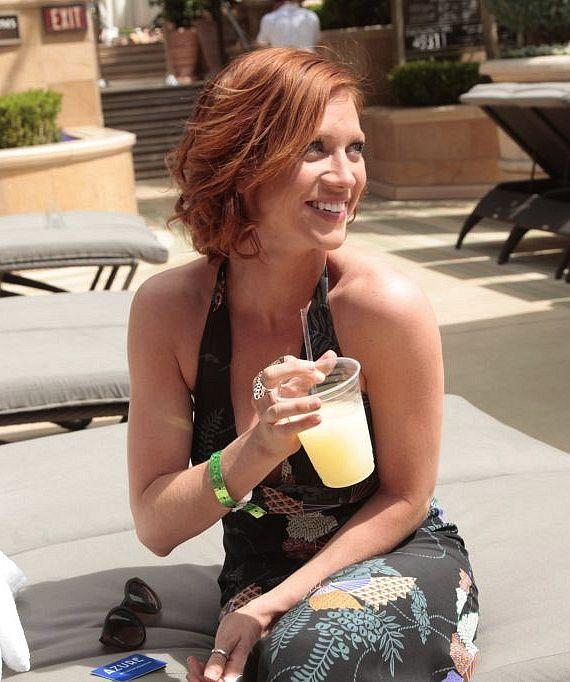 Brittany Snow at Azure at The Palazzo
