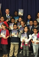 White Star Line Officer of Titanic Reads to Local Students in Celebration of Nevada Reading Week