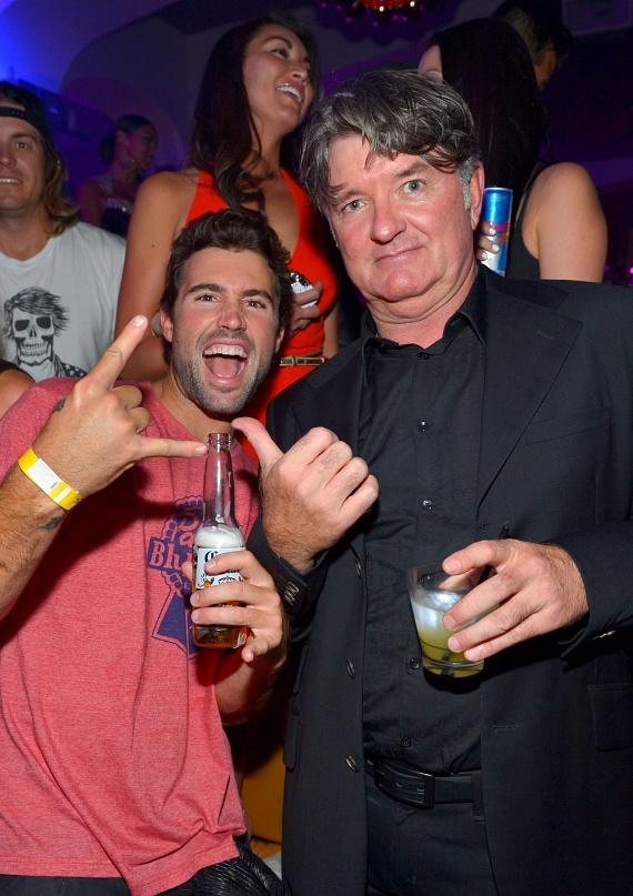 Brody Jenner with Tommy Armour at Hyde Bellagio, Las  Vegas
