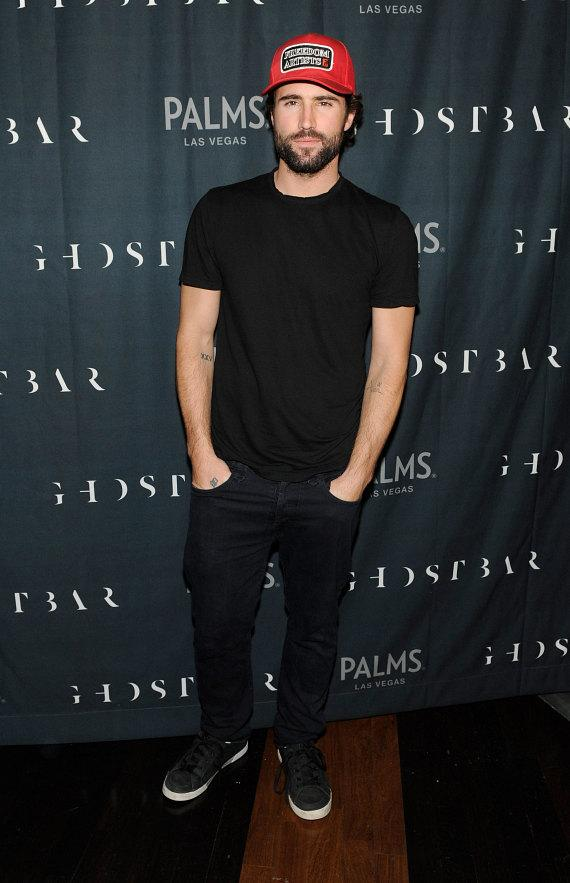 Brody Jenner looks dapper on the red carpet of Ghostbar inside Palms Casino Resort
