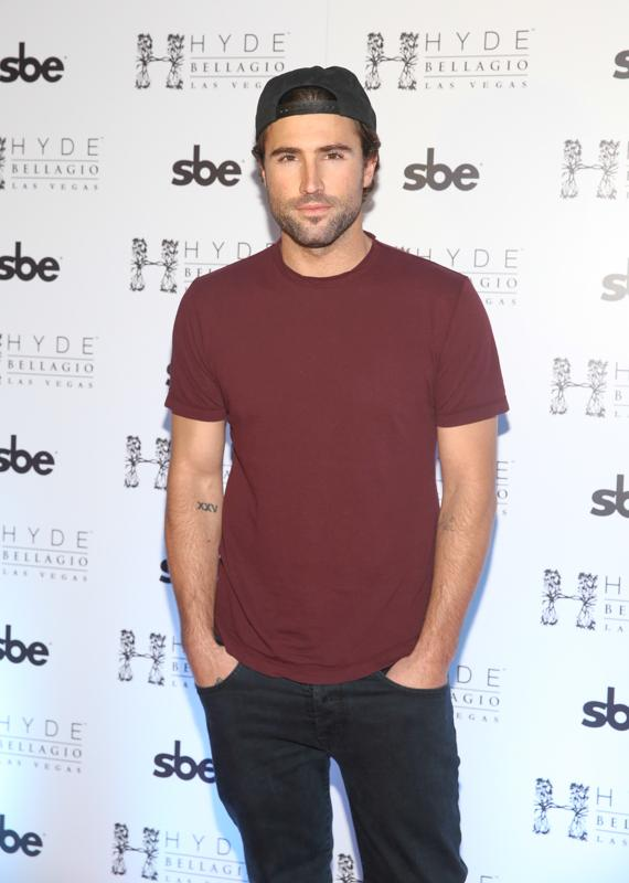 Brody Jenner on red carpet at Hyde Bellagio, Las Vegas
