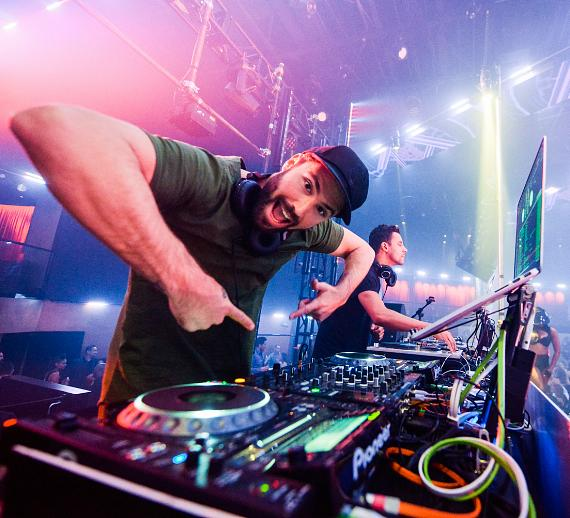 Brody Jenner and Devin Lucien Kick Off DJ Residency at Drai's Nightclub Las Vegas