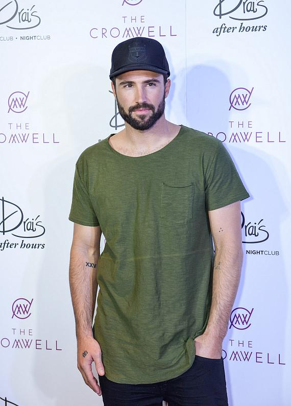 Brody Jenner arrives at Drai's Nightclub Las Vegas