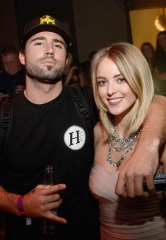 Brody Jenner and girlfriend Kaitlynn Carter at TAO Nightclub in Las Vegas