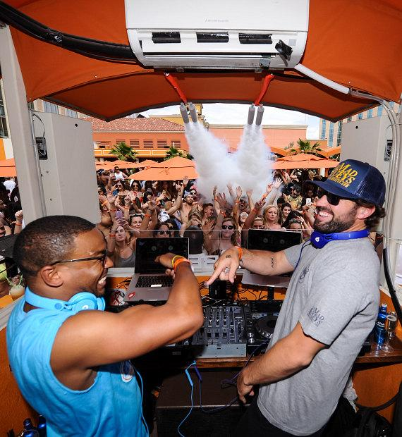 Brody Jenner and William Lifestyle at TAO Beach