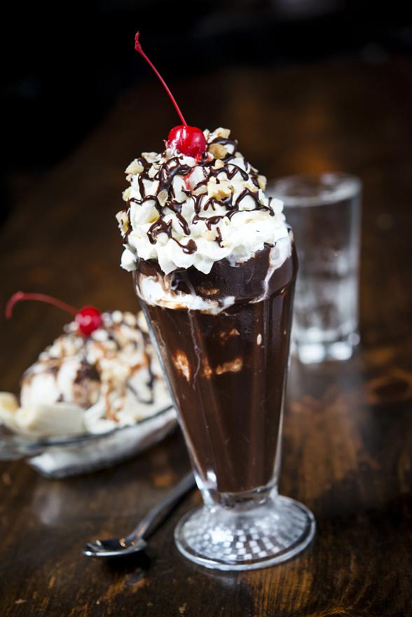 Brooklyn Bowl Las Vegas sundae