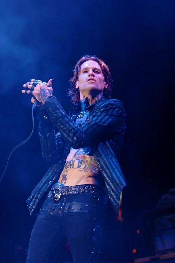 Buckcherry's Josh Todd performs at Rock Vegas Festival at Mandalay Bay
